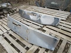 Polished Aluminum Front Trunk Bumpers