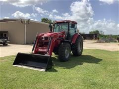 2017 Mahindra M105XL-P MFWD Tractor W/Loader & Bucket