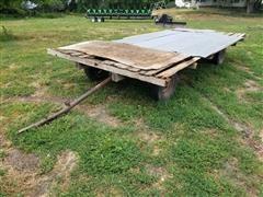Flatbed Hay Trailer