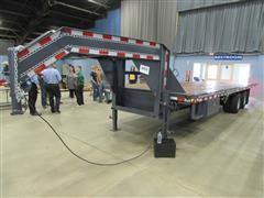2021 Shop Built 30' Hydraulic Tilt Trailer