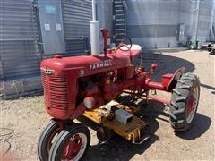 Farmall B 2WD Tractor W/Mower