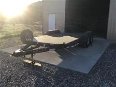 2017 Rampant T/A Flatbed Trailer
