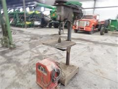 Lincoln Arc Welder & Drill Press Stand