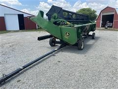 1988 John Deere 920 20' Flex Head & Cart