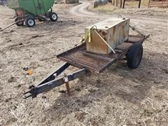Homemade S/A Utility Trailer W/Fuel Tank