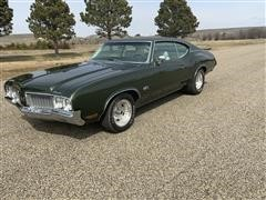 1970 Oldsmobile 442 With Build Sheet