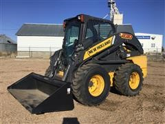 2014 New Holland L230 Skid Steer W/Bucket