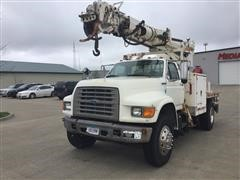 1996 Ford Pole Digging/Setting Truck