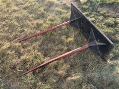 Titan Skid Loader Mount Bale Spear