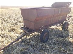 Horn Flared Barge Wagon w/ Endgate Seeder