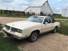 1985 Oldsmobile Cutlass Brougham 2-Door Coupe