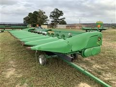 "2014 John Deere 612C 12R30"" 30' Corn Head W/Trailer"