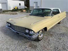 1962 Cadillac Deville 2 Door Hard Top