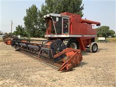 1992 Massey Ferguson 8570 2WD Rotary Combine W/Grain/Corn And Pickup Heads