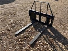 Balemaster Koyker 500-PIN ON-PF W/Carriage Pallet Forks
