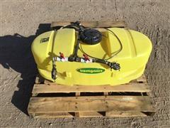Bomgaars 25-Gal Spray Tank W/ 12v Electric Pump & Accessories