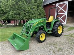 2011 John Deere 4320 Compact Utility Tractor W/Loader