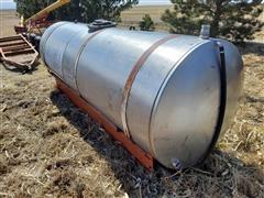 Clark 1000-Gal Stainless Tank