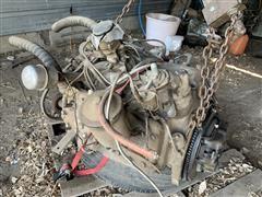1948 Ford V8 Engine