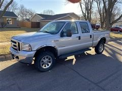2006 Ford F250 Super Duty 4x4 Crew Cab Pickup