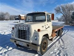 1974 Ford LN700 S/A Flatbed Truck
