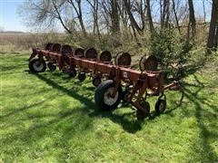 International 153 8R30 Row Crop Cultivator