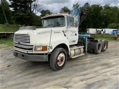 1995 Ford Aeromax LTL9000 T/A Truck Tractor W/Palfinger Knuckleboom