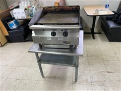 Eagle Red Hots Flat Top Grill