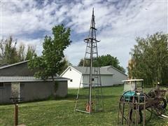 Dempster Windmill, Jensen Pump Jack, & Hand Pumps