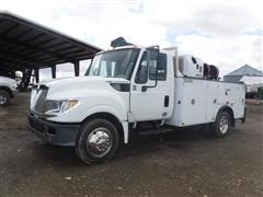 2015 International TerraStar S/A 2WD Service Truck