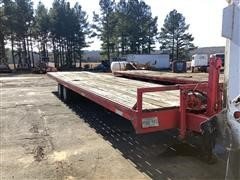 2005 Homemade T/A Flatbed Trailer
