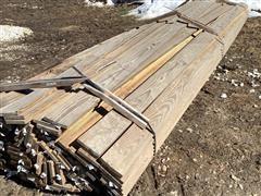 1' X 6' X 16' Treated Lumber