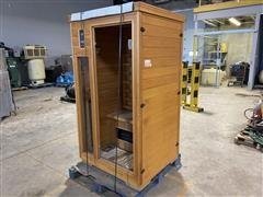 Indoor/Outdoor Sauna