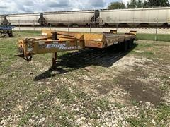 2004 Eager Beaver 10HDB-PT T/A Flatbed Trailer