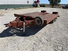 1978 Hagie 6470 T/A Flatbed Trailer