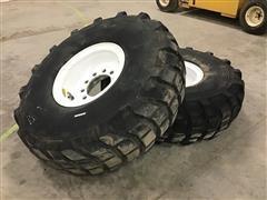 Michelin X 16.00R20 XL Tires On 10-Bolt Rims