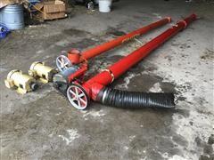 Westfield 20' & 15' Discharge Augers & Motors