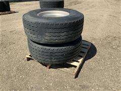 Firestone 425/65R22.55 20PR Tires & Rims