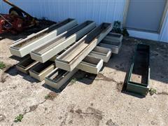 Steel Garden Planter Boxes