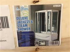 2020 Pure Steam And Bath Deluxe Jacuzzi & Steam Shower