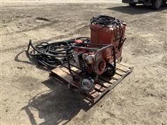 Welder, Generator, And Trash Pump