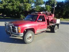 1989 Chevrolet 3500 4x4 Dually Fire Truck