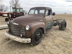1951 Chevrolet 6400 S/A Cab & Chassis (INOPERABLE)