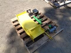 John Deere 2' Wide Spout Extension And Hardware As Pictured