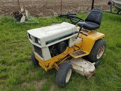 Cub Cadet 149 Hydrostatic Lawn Tractor W/Snow Blade & Rear Tiller