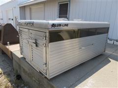 Alum-Line Popper Pet/Pig/Sheep Pickup Transport Box