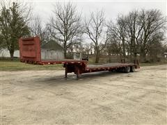 1968 Marshall T/A Step Deck Trailer W/Beaver Tail