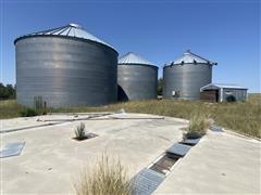 MFS Stor-Age Grain Bins & Dryer/Shed