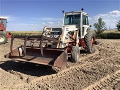 1979 Case 2090 2WD Tractor W/90 Loader & Grapple