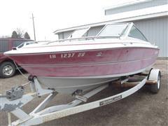 1987 Larson Citation 17' Boat With Trailer